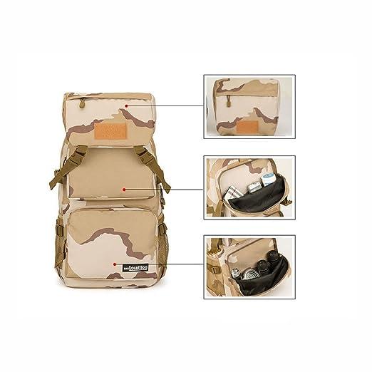 214d7acad711 Amazon.com : YaXuan Outdoor Climbing Camo Bag Travel Backpack Mens ...