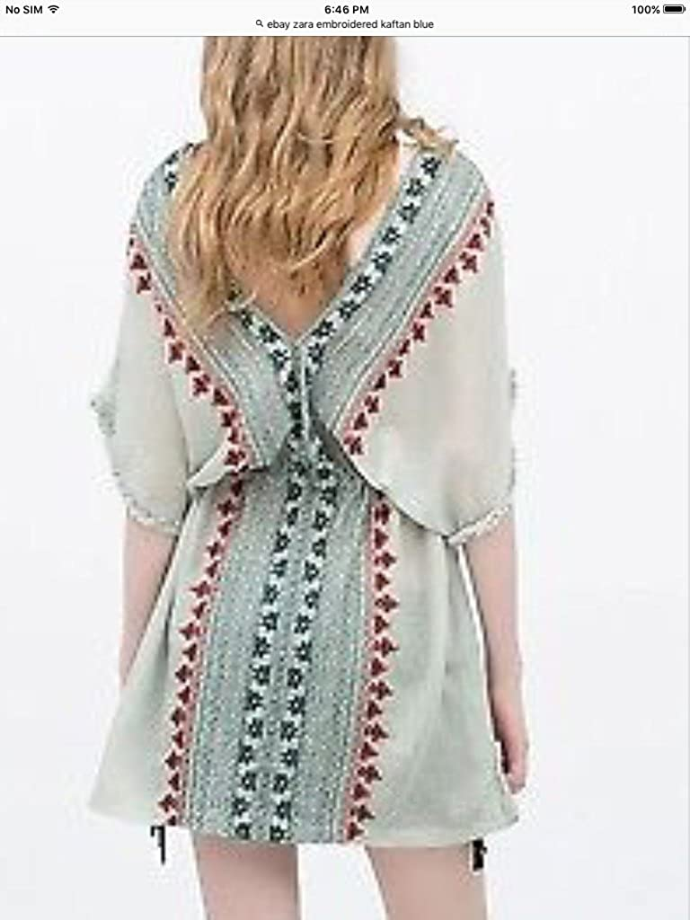 53cc31bf Zara Kaftan Top at Amazon Women's Clothing store: