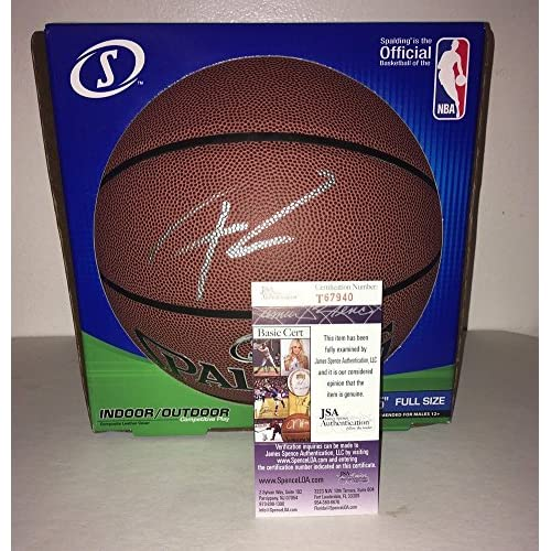 1746e767bf8 Giannis Antetokounmpo Signed Autograph Basketball Milwaukee Bucks Star JSA  Certified