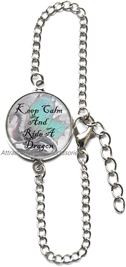 Dragon Charm Women Pendant for Necklace or Bracelet