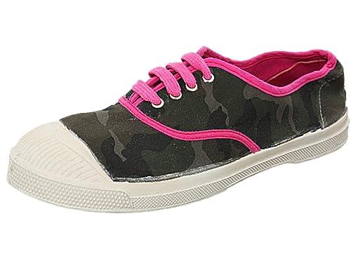 Bensimon - Zapatillas de deporte para mujer camuflaje 40: Amazon.es: Zapatos y complementos