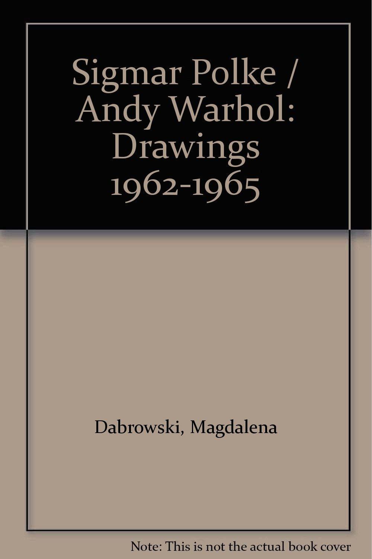 sigmar polke andy warhol drawings 1962 1965