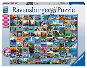 Ravensburger 99 Beautiful Places On Earth Jigsaw Puzzle 1000 Piece Ravensburger