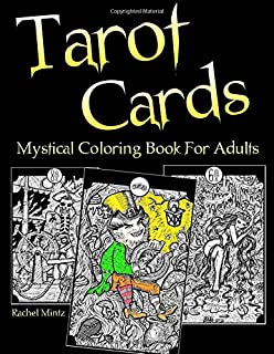Amazon Meditate With The Tarot A Coloring Book For Adults