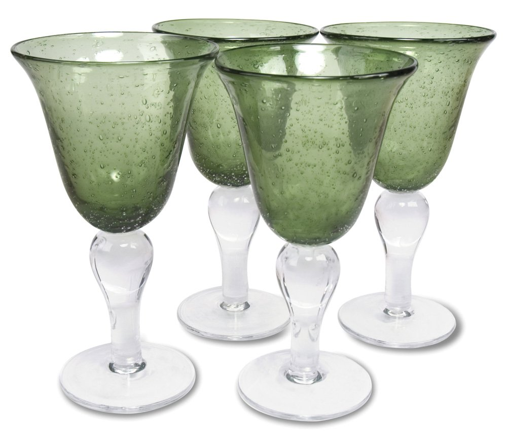 Artland Iris Goblet, Sage, Set of 4 50955B