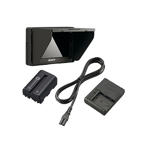 Sony CLM-V55 - Cargador para cámara de vídeo (LCD, 5 ...