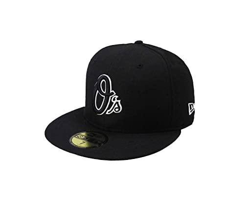 1fadd399496 Image Unavailable. Image not available for. Color  New Era 59fifty  Baltimore Orioles  quot O quot  MLB Cap Men s Fitted Hat ...