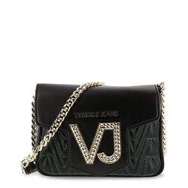 417ec8d8f6 Amazon.com: Versace Jeans Women Black Crossbody Bags: Clothing
