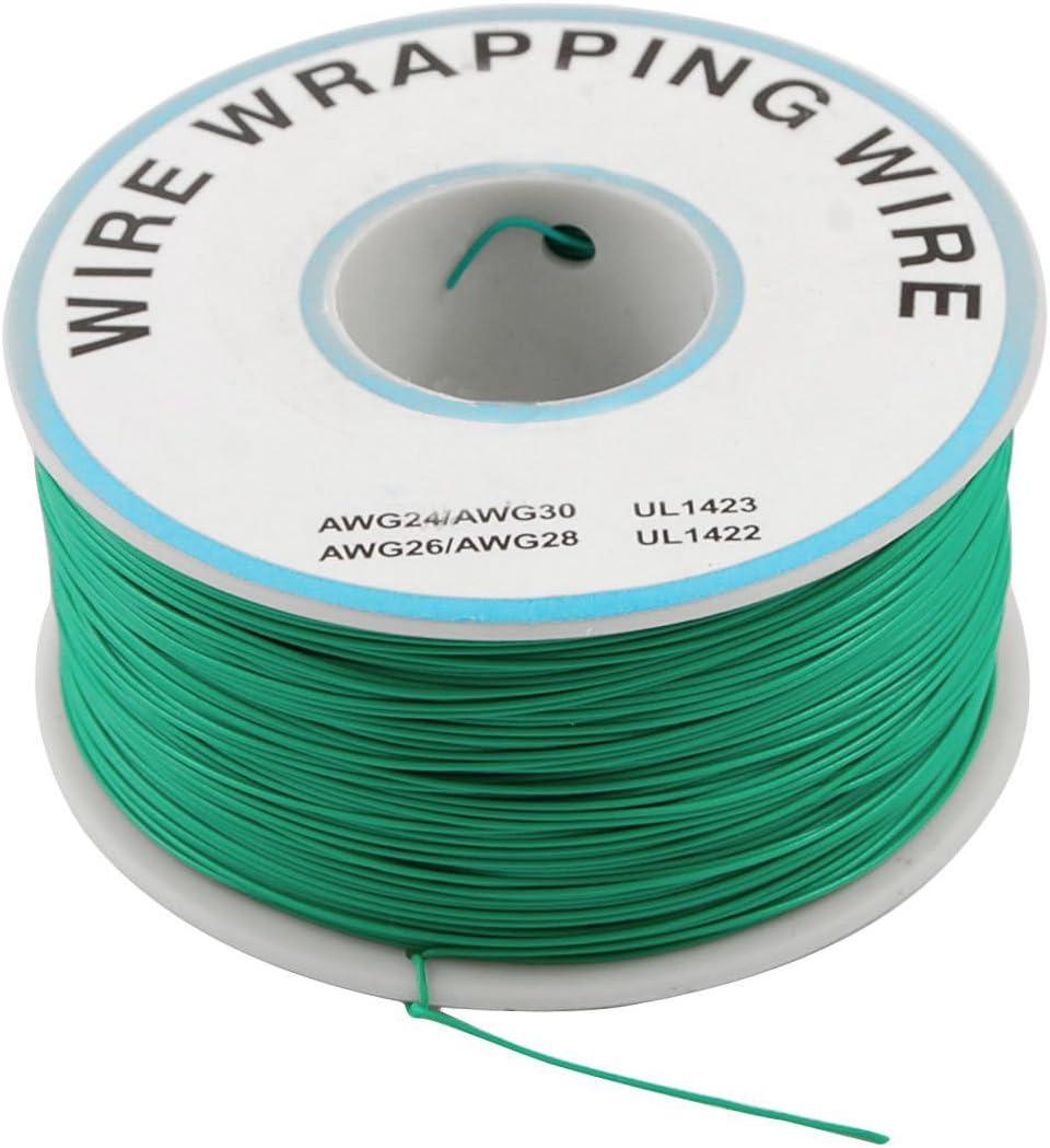 Filo di rame stagnato 30 AWG colore: Verde Scheda di circuito JTAG 0,25 mm