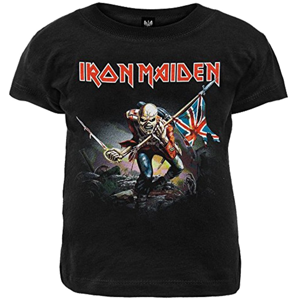 Ill Rock Merch Boys' Iron Maiden The Trooper Toddler T-Shirt