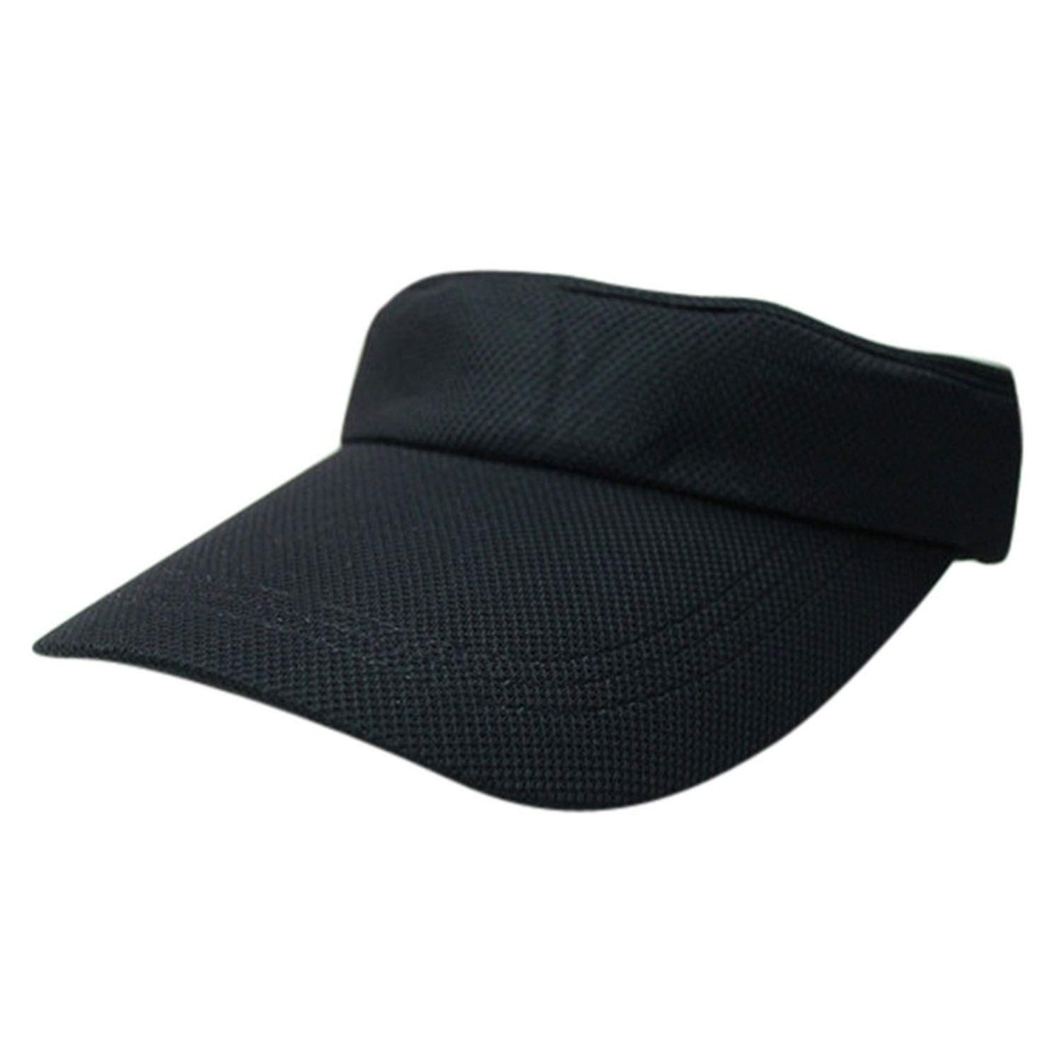 Newly Design Fashion Solid Visor Caps Best Tennis Hat 160513 Drop Shipping
