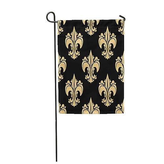 Semtomn - Bandera de jardín de 12 x 18 pulgadas con diseño de ...