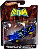 Hot Wheels Batman 1980s Batmobile 1:50 Scale Die Cast Vehicle