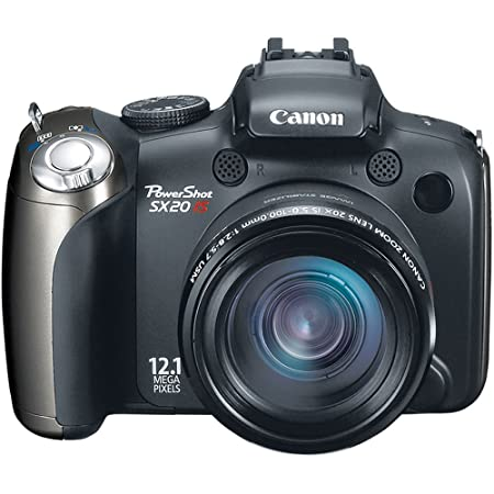 Review PowerShot SX20 IS