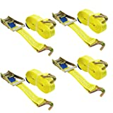 Keeper 05521 15 x 1-3//4 Molded Grip Ratchet Tie Down