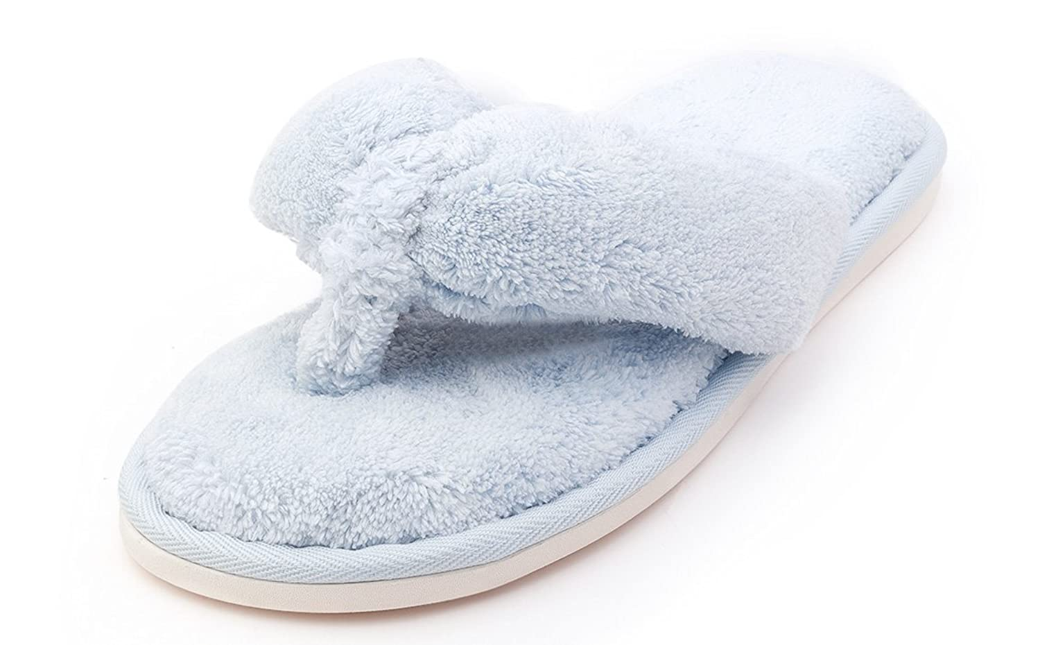 Comfort Slippers Indoor Flip Flop Thong Spa Slip on House Slippers ...