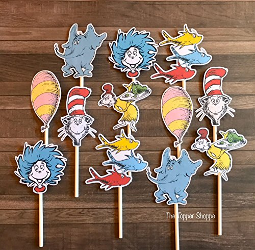 12 Cupcake Toppers STORYBOOK ()