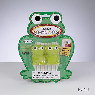 Rite Lite Passover Pop-Eye Frogs: Toys & Games