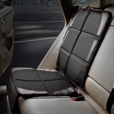 Protector de asiento de Automóvil POOPHUNS,con Acolchado más Grueso- La Mejor Protección para los Asientos de los Coches del Niño y del Bebé Protege ...