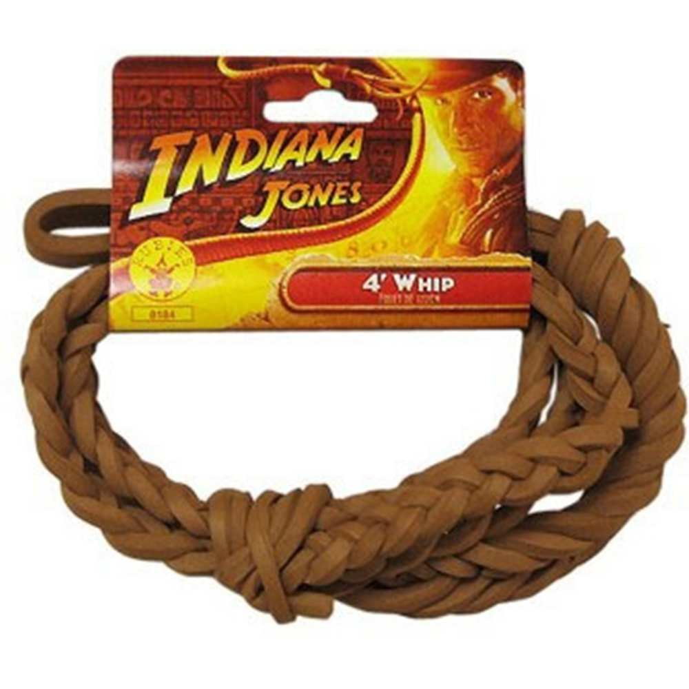Indiana Jones - Indiana Jones 4' Whip Child Rubies RU8184 MOR-RU8184