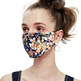 Anti Pollution Dust Mask Washable and Reusable PM2.5 Cotton Face Mouth Mask Protection from Pollen Allergy Safety Mask