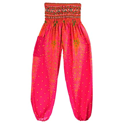 Mitlfuny Bekleidung&Accessoires - Pantalones bombachos ...