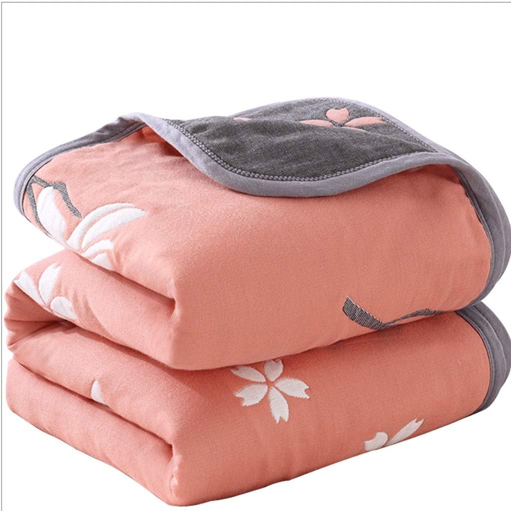 6層のガーゼタオルキルト サイズ/コットン両面シングルダブル毛布/四季ユニバーサルベッド毛布毛布 B07Q35ZT23 (色 : Orange, : サイズ さいず : 200X230cm) 200X230cm Orange B07Q35ZT23, ドリームコンタクト:32a3e808 --- ijpba.info