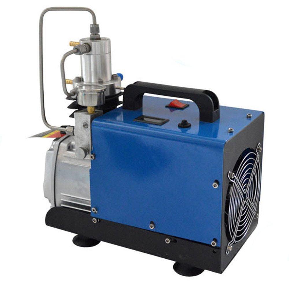 Zorvo High Pressure 30Mpa Electric air Pump 30MPA Adjustable Auto-Stop High Pressure PCP Air Compressor for Airgun Scuba Rifle Air Compressor 300BAR