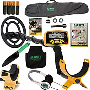 Garrett Ace 250 Metal Detector withHeadphones, DVD, Digging Trowel, Finds Pouch and Carry Bag