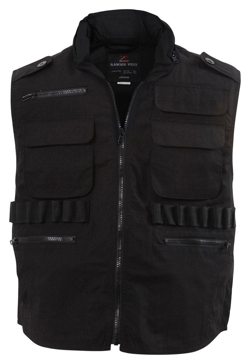 Rothco Ultra Force Black Ranger Vest 2XL 75582XL