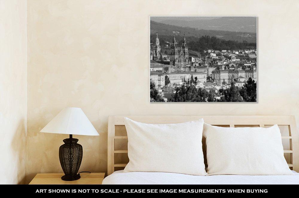 Amazon.com: Ashley Canvas Cathedral of Santiago De ...
