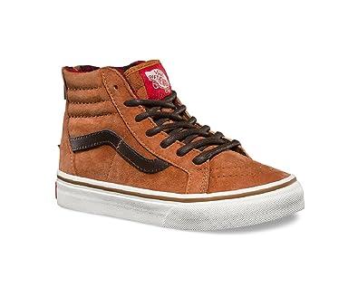 Vans Toddler's SK8-Hi Zip (MTE) Glazed Ginger Skateboarding Shoes (US 1.5