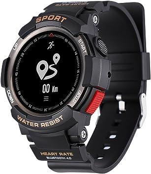 Amazon.com: luckyruby NO.1 F6 GPS Smartwatch NRF51822 Chip ...