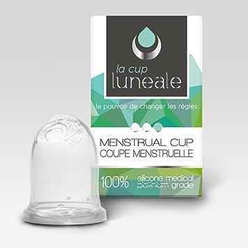 57025bfc83 Coupe menstruelle ergonomique Luneale - design breveté sans tige - Made in  France - Taille S