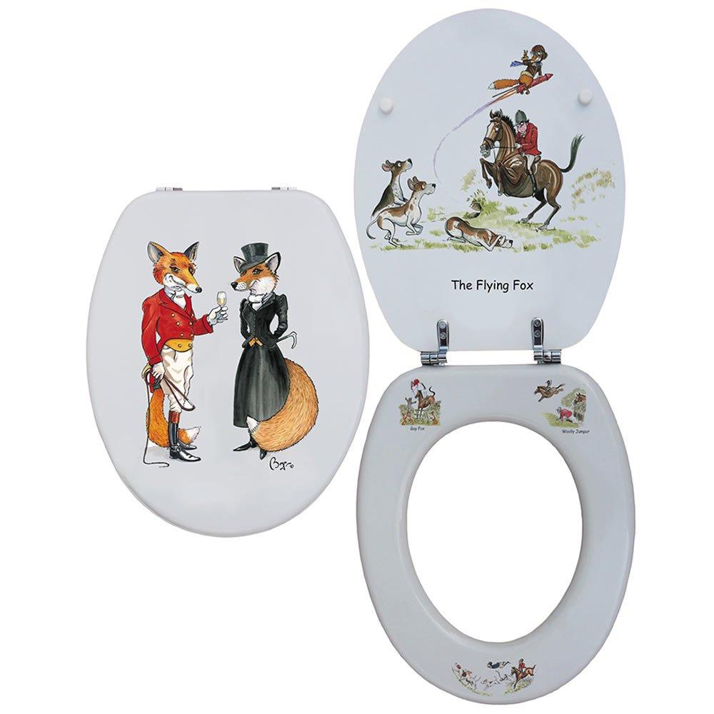 Bryn Parry Loo Siège Mr & Mrs Renard/la Flying Fox Looprints