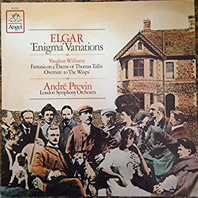 """Elgar : Enigma Variations _ Vaughan Williams : Fantasia on a theme by Thomas Tallis , Overture to """"The Wasps"""""""