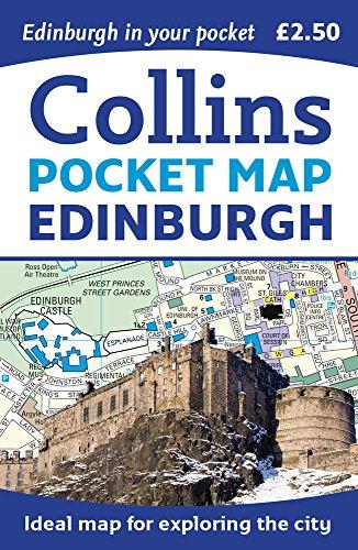 Edinburgh Pocket Map - 0008229295