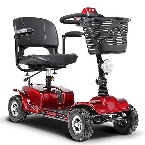 LLPDD Scooter, Mini 4 Ruedas del vehículo eléctrico de Tres Ruedas ...