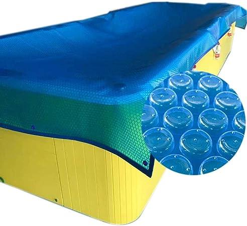 Cobertor Cubierta Fundas para Piscinas, Cubierta Solar Azul ...