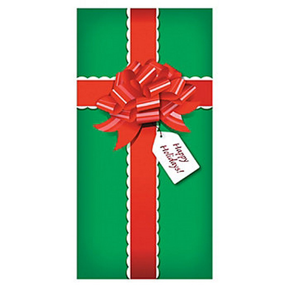 Decorating red door gifts photos : Amazon.com: CHRISTMAS PRESENT/Gift DOOR BANNER Holiday DECORATION ...