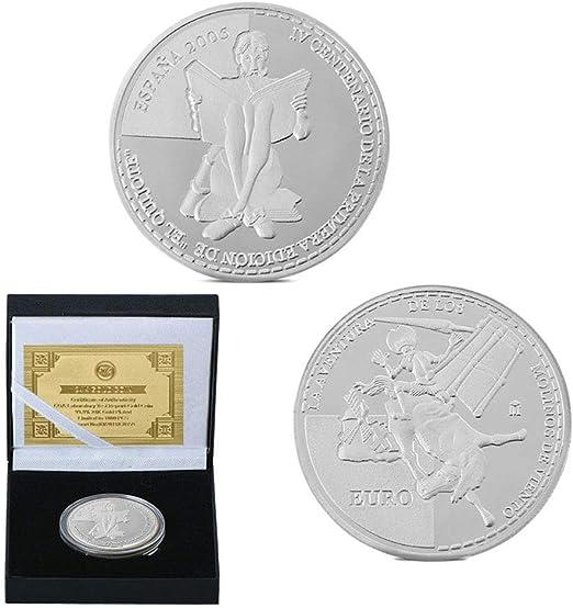 España,la Unión Europea,el Quijote,Monedas,Molino de Viento ...