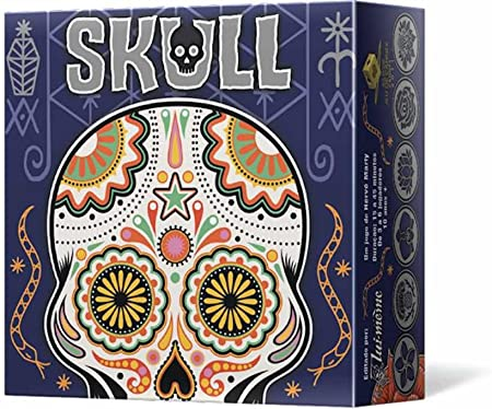 Asmodee- Juego de Tablero Skull, Color (LMSK0001): Amazon.es: Juguetes y juegos