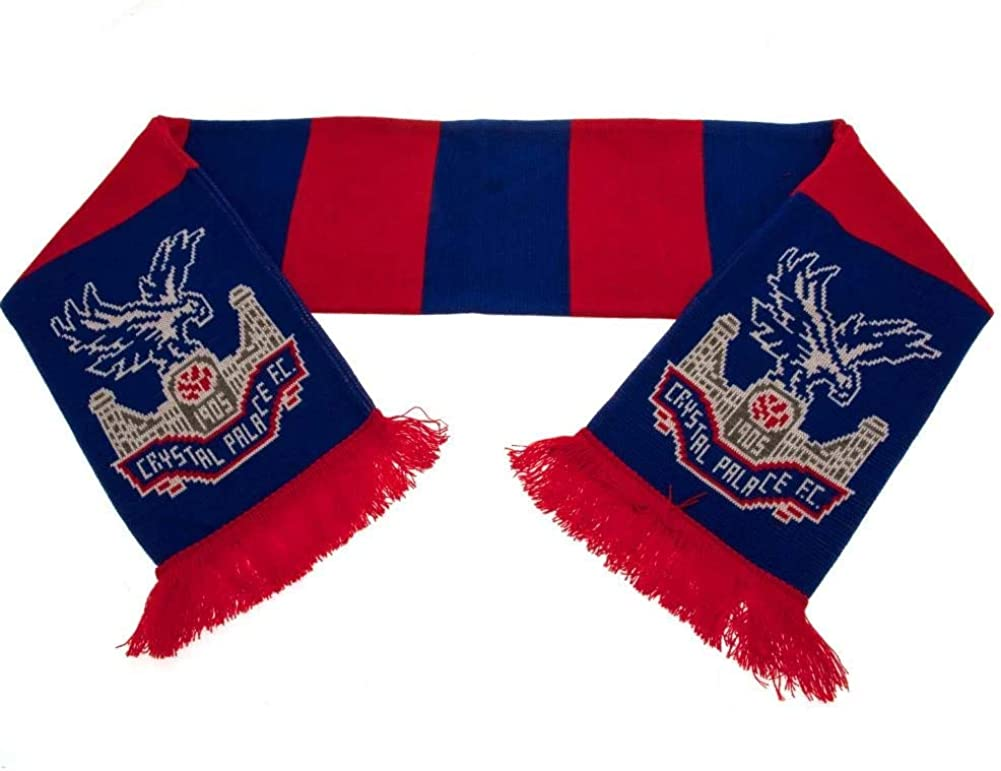 Crystal Palace Fc Supporters Official Bar Scarf