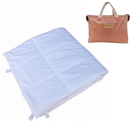 Peso manta kpblis Heavy sensorial manta sueño más rápido y dormir mejor para niños y adultos