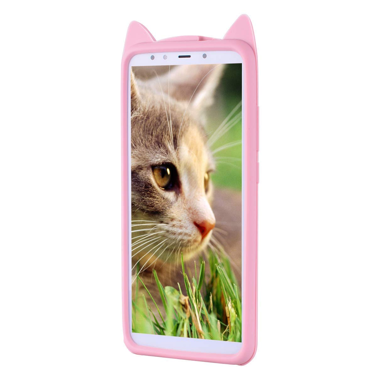 HopMore Gato Funda para Huawei P Smart Plus (P Smart+) Silicona Motivo 3D  Divertidas TPU Kawaii Carcasa Huawei P Smart Plus Ultrafina Slim Case  Antigolpes ...