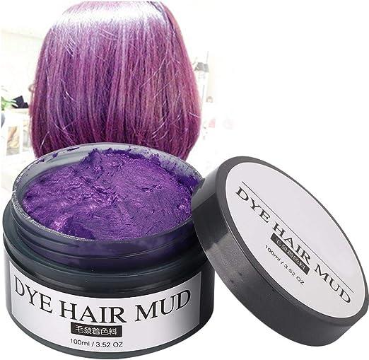Tinte para el cabello de 100ml, cera para teñir el cabello ...