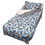 Freestyle Motocross 4 Piece Toddler Bedding Set