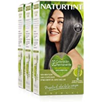 Naturtint Coloración Permanente Sin Amoniaco | 100% Cobertura de canas. Ingredientes Naturales. Color Natural y Duradero…