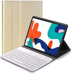RLTech Teclado Funda para Huawei Matepad 10.4, QWERTY Ultra Slim Teclado Wireless Keyboard Case con Magnético Desmontable Inalámbrico Bluetooth para ...