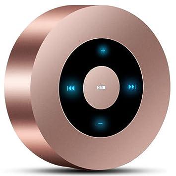 K-DD Altavoz Bluetooth con 8-10 horas de reproducción, rango Bluetooth de